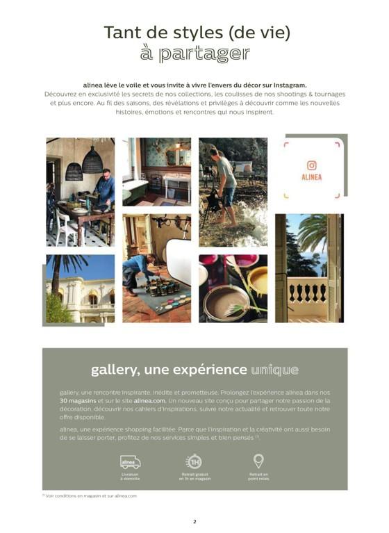 alinéa à saint-Étienne, promotions du catalogue